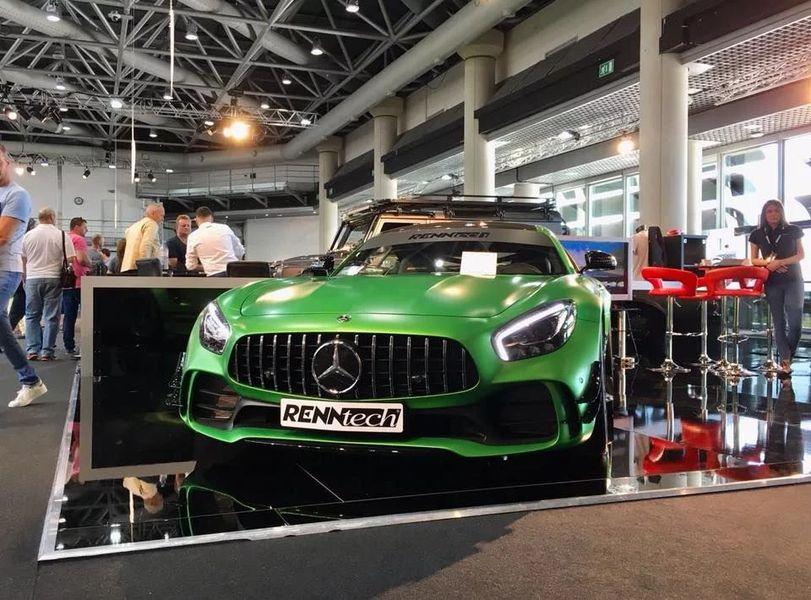 Xem Mercedes-AMG GT-R độ Renntech phá kỷ lục Nurburgring - Hình 2